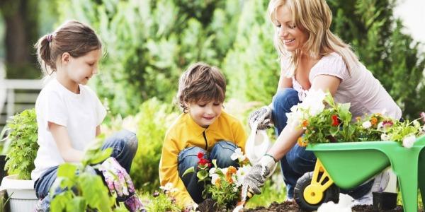 5 prostych sposobów, aby zachęcić dzieci do ogrodnictwa, część 1.